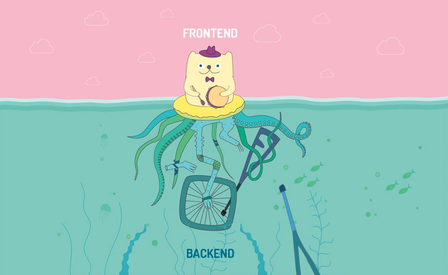 front-end ve back-end nedir?