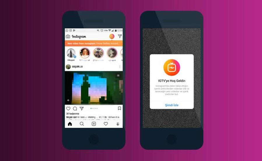 Instagram'ın Yeni Yayın Servisi: IGTV