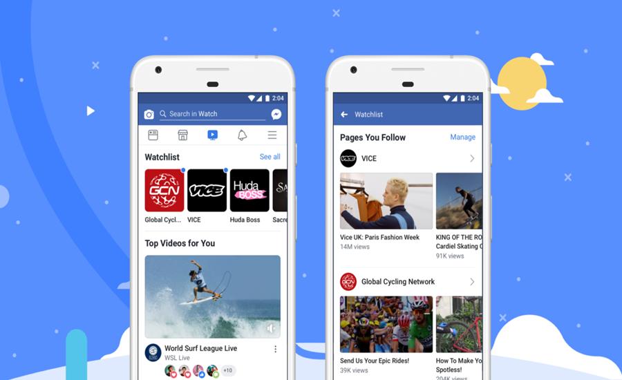 Facebook Watch Dünya Çapında Kullanıma Sunuluyor