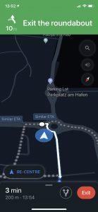 Google Maps Karanlık Modu