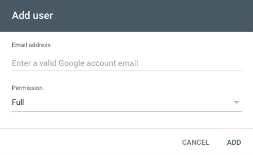 Google Search Console E-Mail Ekleme