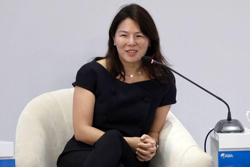 Isabel Ge Mahe Apple Çin Başkan Yardımcısı