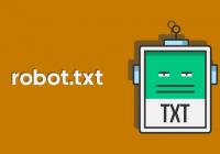 Robot.txt Dosyası