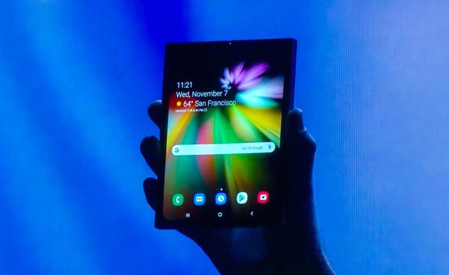 Samsung, Yeni Katlanabilir Telefonunu Duyurdu