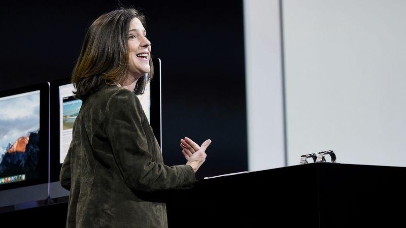 Susan Prescott Apple Apps Pazarlama Genel Müdür Yardımcısı